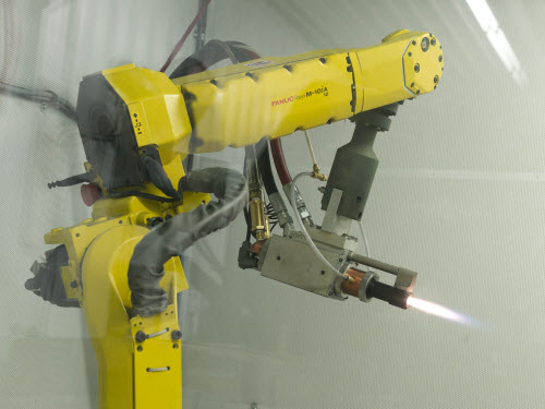 CNC Thermal Spray Robot
